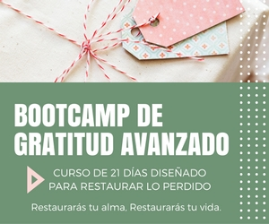 Boot Camp de Gratitud Avanzado